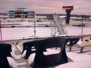 Photo from the Pocono Raceway's facebook page