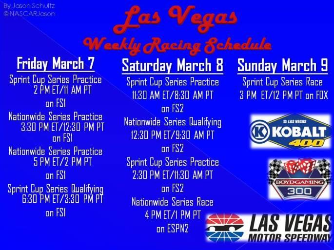Las Vegas Schedule