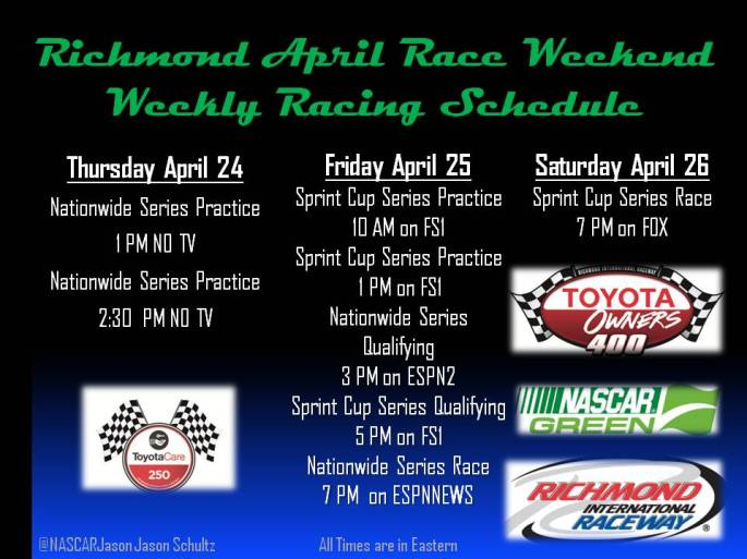 Richmond April Race Weekend