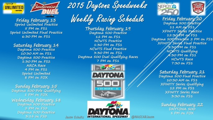 2015 Daytona Speedweeks2